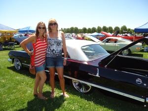 The Chevy Impala we went cruising in!!!